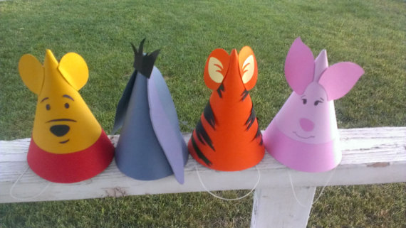 Winnie The Pooh Party Hats