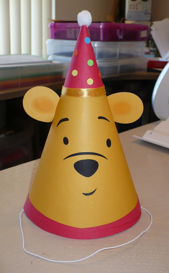 Winnie the pooh Party Hat
