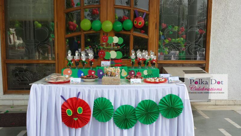 Hungry Caterpillar Themed Party