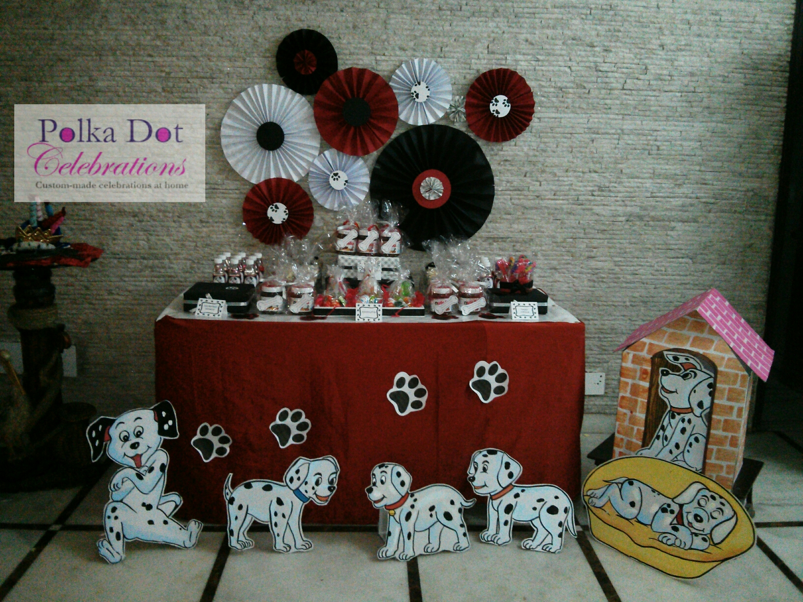 Dalmatian Themed Party