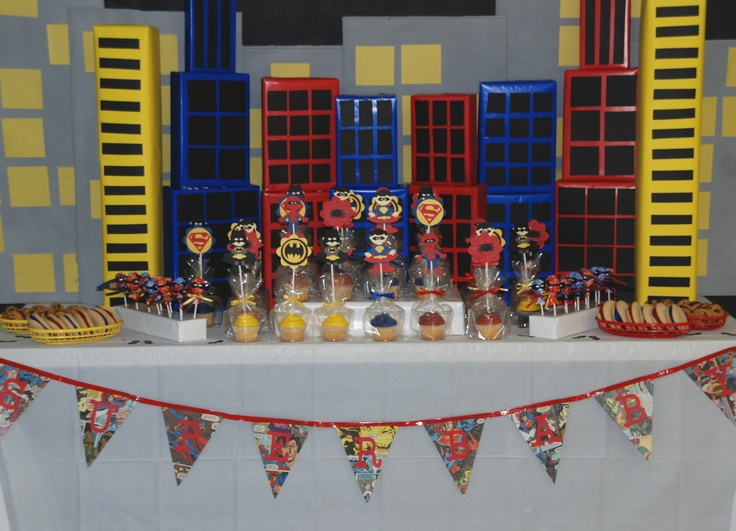 Super Hero Themed Party