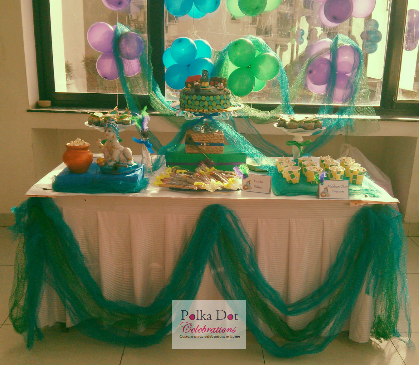 Krishna Themed Party