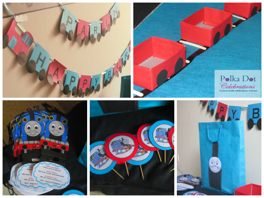 Thomas and His Friends Themed Party
