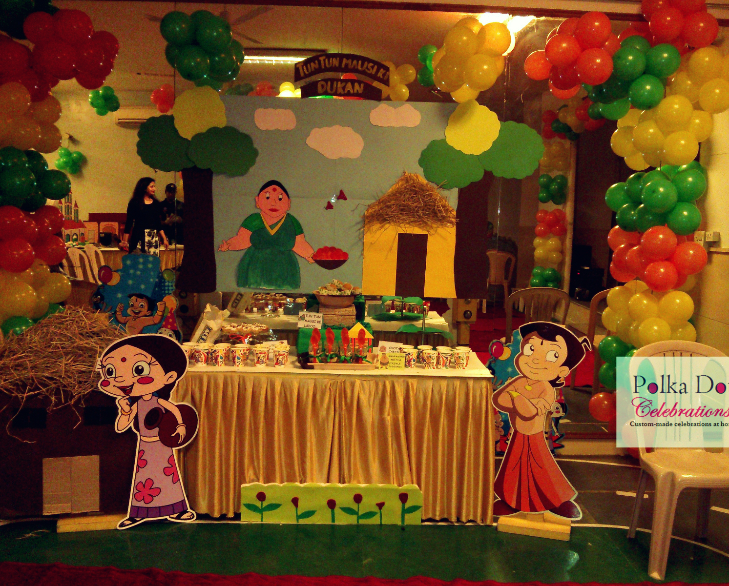chota bheem themed party