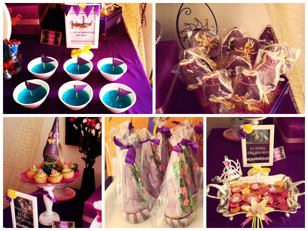 Tangled Themed Party