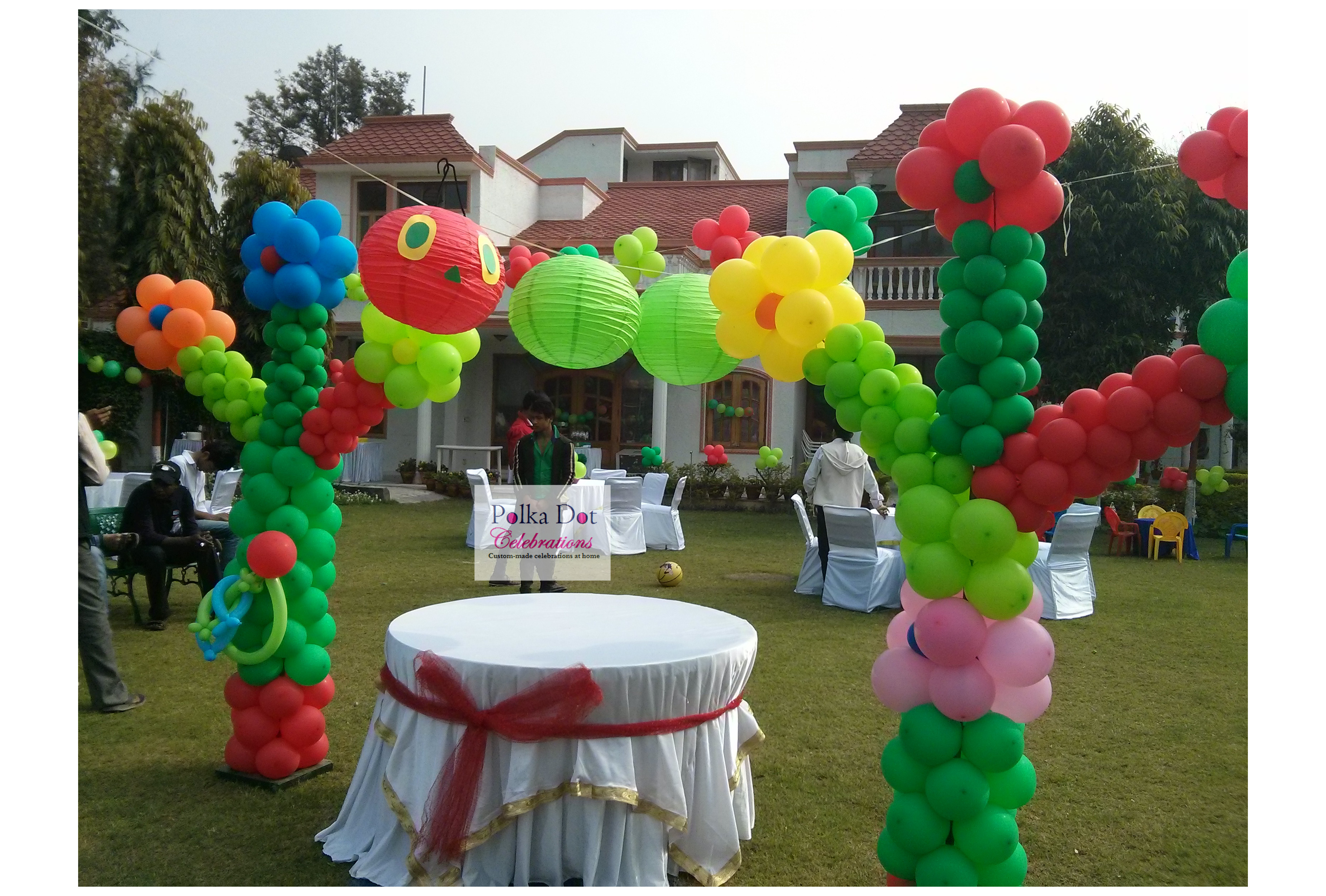 A Very Hungry Caterpillar Themed Party