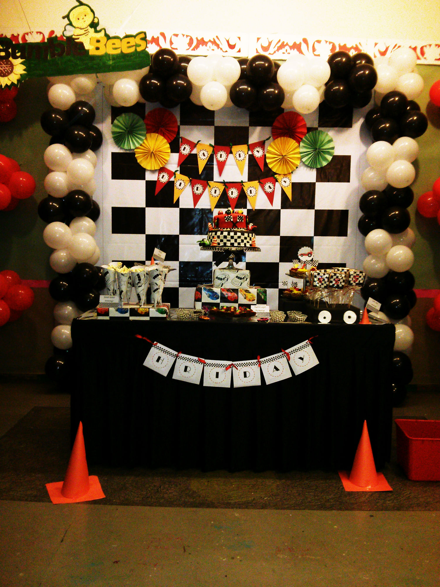 Car Race Themed Party