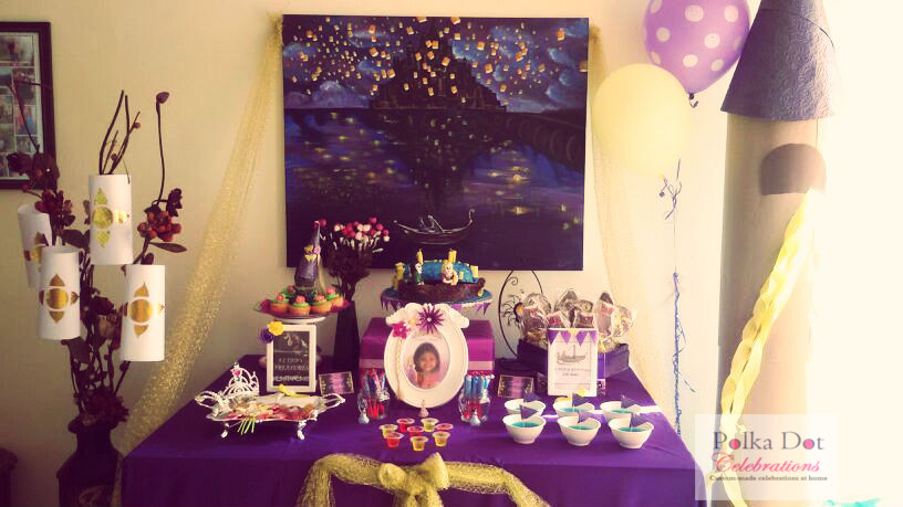 Rapunzel Themed Party