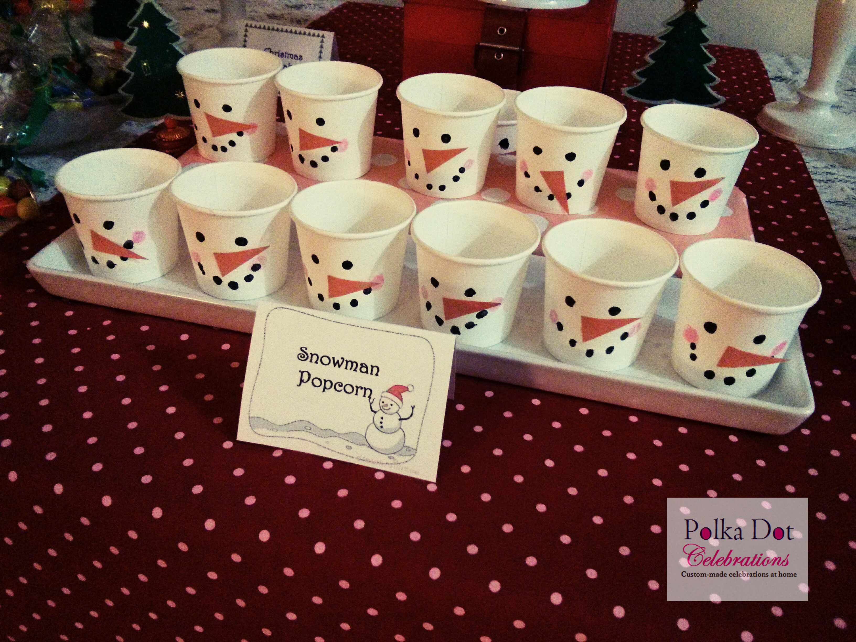 Christmas Party Ideas for Kids Party - Polka Dot Celebrations