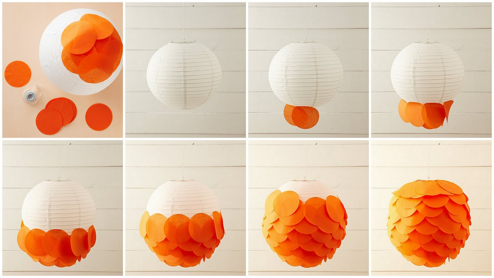 Quick and easy diy party ideas polka dot celebrations for How to make a beautiful lantern