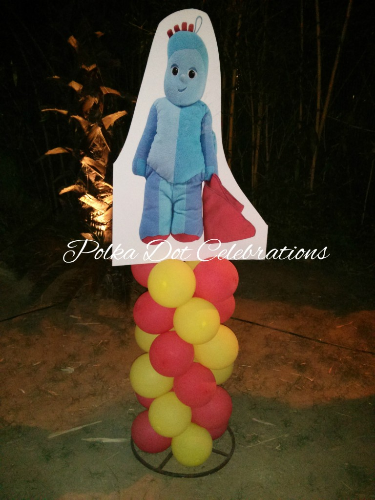 In the night garden balloon