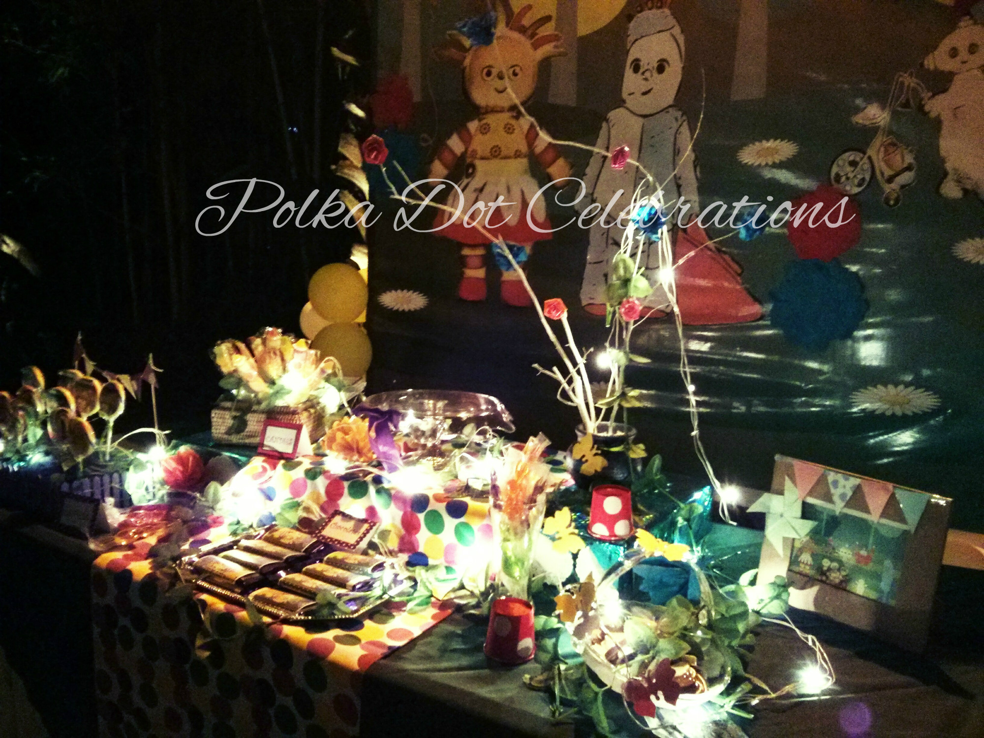 In The Night Garden Party Ideas Party planning archives polka dot celebrations in the night garden theme party workwithnaturefo