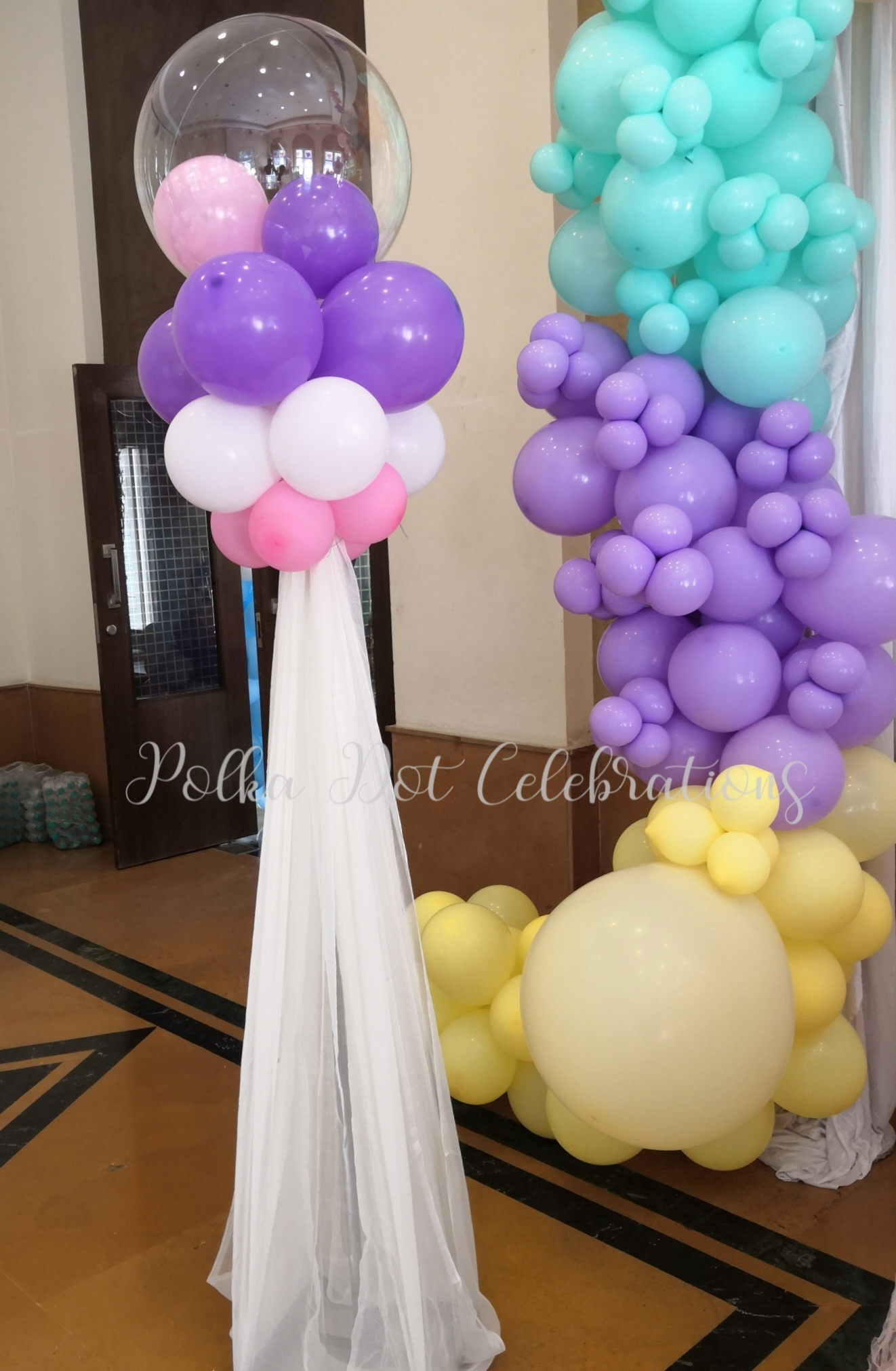 Pastel Balloon Decorations